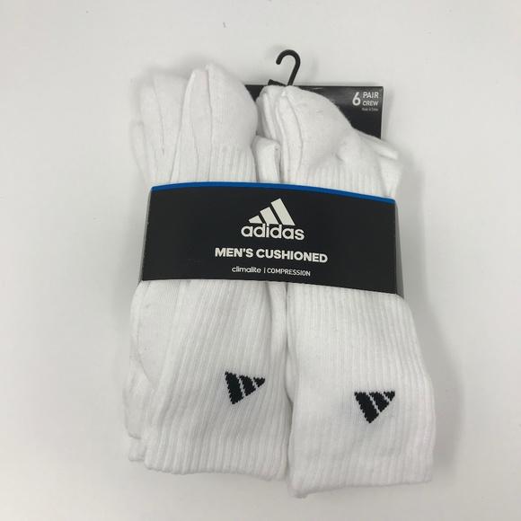 9327cdc08 adidas Underwear & Socks | New Climalite Crw Socks 6pack Mens 612 ...